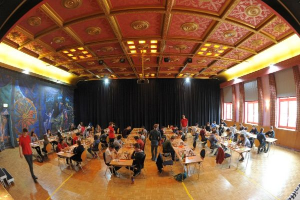 Der Fuchspalast in St. Veit bot ideale Spielbedingungen (Quelle: www.jugendschach.at, Erich Gigerl)